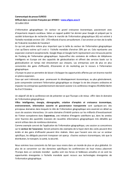communiqu de presse eurogi-con imagine 2014