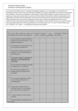 Improving Practice Questionnaire