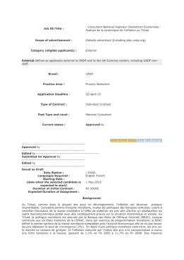 RFP/04/2015/010 - UNDP | Procurement Notices