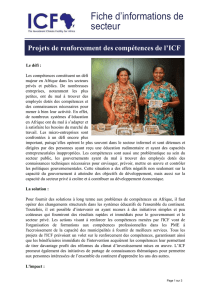 Télécharger ICF Capacity Building Sector Factsheet
