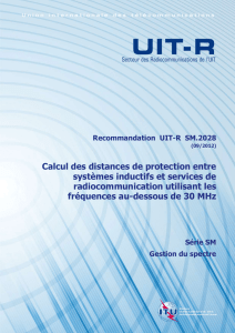 5 Organigramme de calcul de la distance de protection
