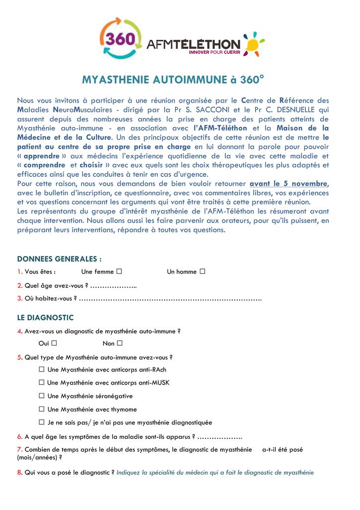 QUESTIONNAIRE MYASTHENIE 360 (1) - AFM
