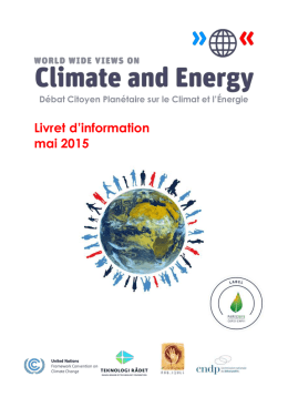 français (Microsoft Word) - World Wide Views on Climate and Energy