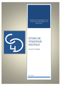 etude de strategie digitale