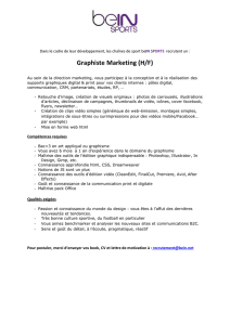 annonce graphiste Marketing Aout 2016
