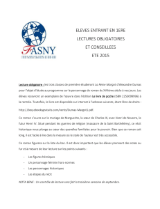 FASNY 2015 Summer Reading Lists ELEVES ENTRANT EN 1ERE