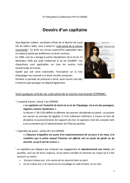 Mignonette_ devoirs du capitaine - CULTURE