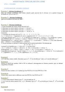 Exercice 45 : Equation diophantienne