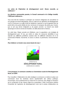 Bulletin communal et site internet