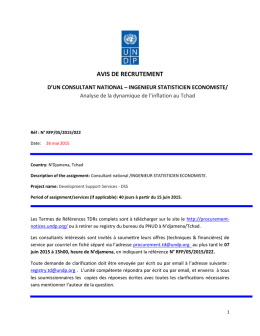 RFP/05/2015/022 - UNDP | Procurement Notices