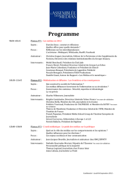Programme - Amazon Web Services