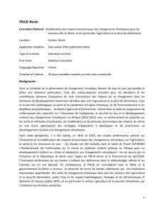 PNUD Benin - UNDP | Procurement Notices