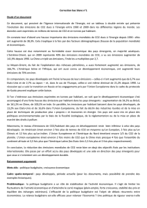 Correction bac blanc n°1 Etude d`un document Ce document, qui