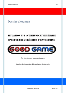 Dossier Good Game