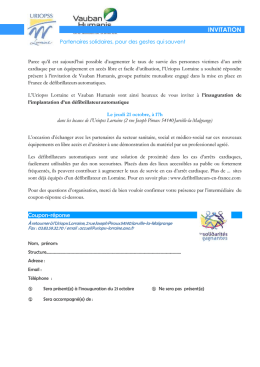 Microsoft Word - Copie de invitation implantation défibrillateur.doc