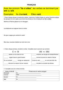 Corriges Des Exercices Outils Pour Le Francais Cm1