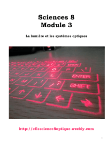 File - Sciences 8 - l`optique