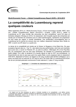 Communique_WEF_Global_Competitiveness_Report_2014_09_01