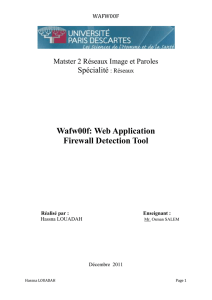 Wafw00f: Web Application Firewall Detection Tool