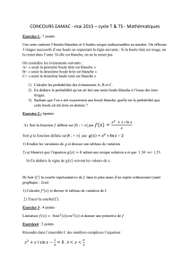 cycle TECHNICIEN et TSUP – Maths