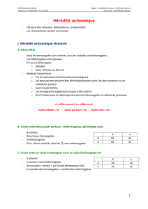 02 Heredite autosomique