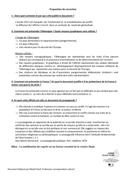 Proposition de correction - Archives Départementales Allier