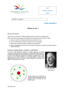 Sciences de base - enseignement Catholique