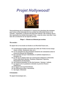 Projet Hollywood