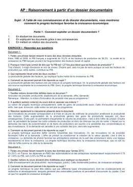 Le document enseignant