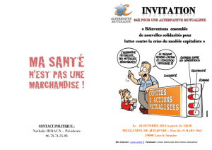 Invitation Finale (1) - Union Nationale Alternative Mutualiste