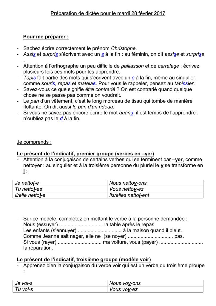 Conjugaison Verbe Rayer Present De L Indicatif