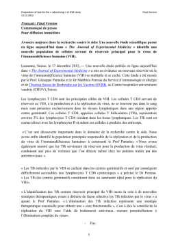 Proposition of text for the « advertising » of JEM study Final Version