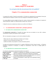 La communication commerciale