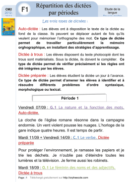 Word - orphee ecole cycle 3