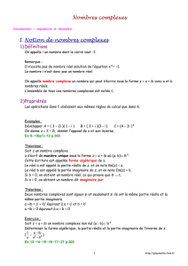 Cours - Playmaths