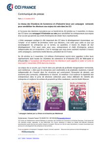 Campagne Elections CCI