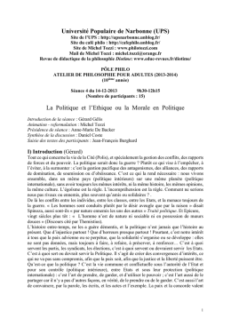 4 ATELIER PHILO ADULTES 16-11-2013 Ethique