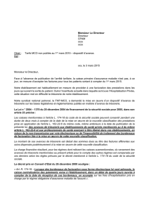 Lettre type - Fhp-MCO