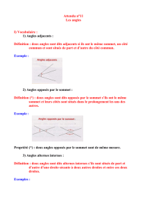 Les angles - Canalblog