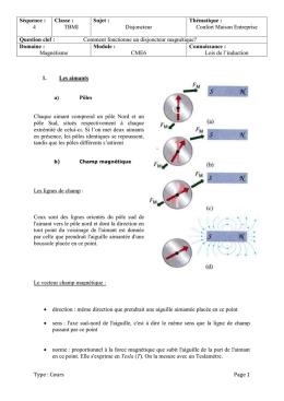 Cahier electro chapitre n 7 - Cours sciences appliquees bac pro cuisine ...