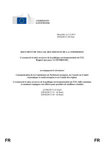 Le Luxembourg a fourni des informations à la Commission