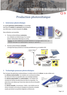 Synthese_Production_photovoltaique