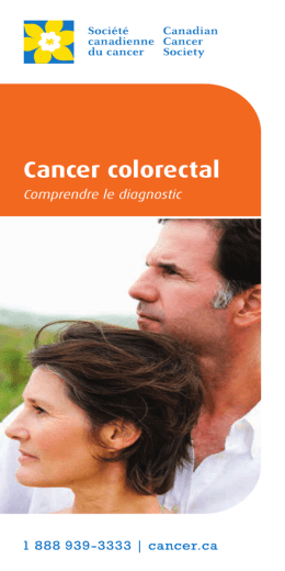 Cancer colorectal : Comprendre le diagnostic