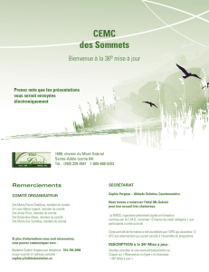 CEMC des Sommets - Altitude Solution