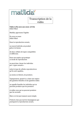 Télécharger la transcription Fichier