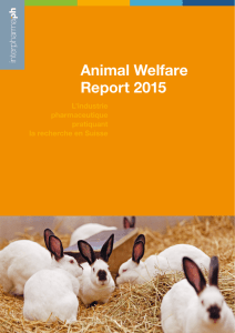 Animal Welfare Report 2015