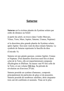 Saturne - Orion Provence