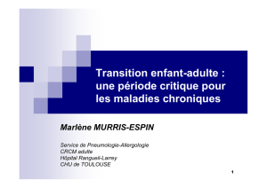 Transition enfant-adulte