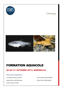 Formation Aquacole