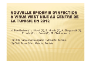 nouvelle épidémie d`infection à virus west nile au